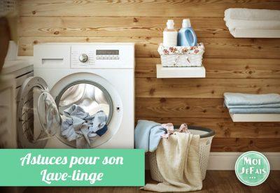 astuces lave linge