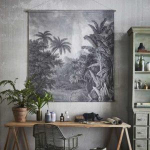déco intérieure originale affiche jungle