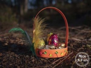bricolage enfant panier de Pâques 03