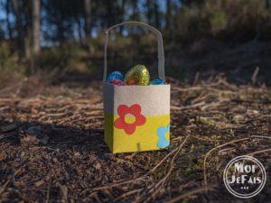 bricolage panier de Pâques 1